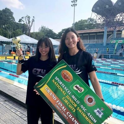 Three Consecutive Year Overall Champion for Malaysia National Junior Swimming Circuit