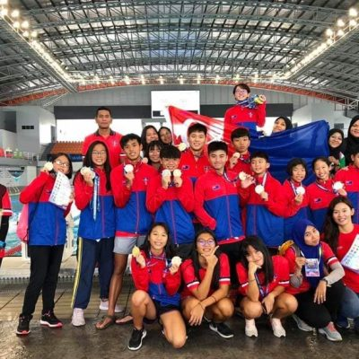 Outstanding Achievement in Malaysia National School Swimming Championship 2019